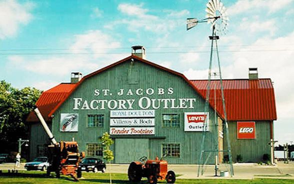 St. Jacobs outlet Mall